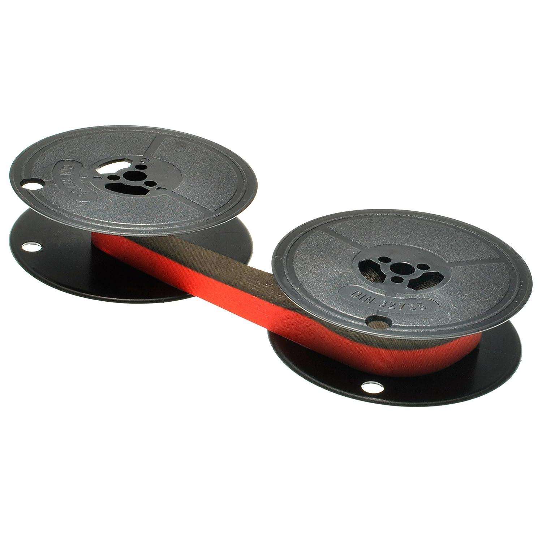 Cinta para Panasonic Grupo 1 negro/rojo - BK/Red, 13 mm/10 M doble bobina, compatible con 67114: Amazon.es: Oficina y papelería