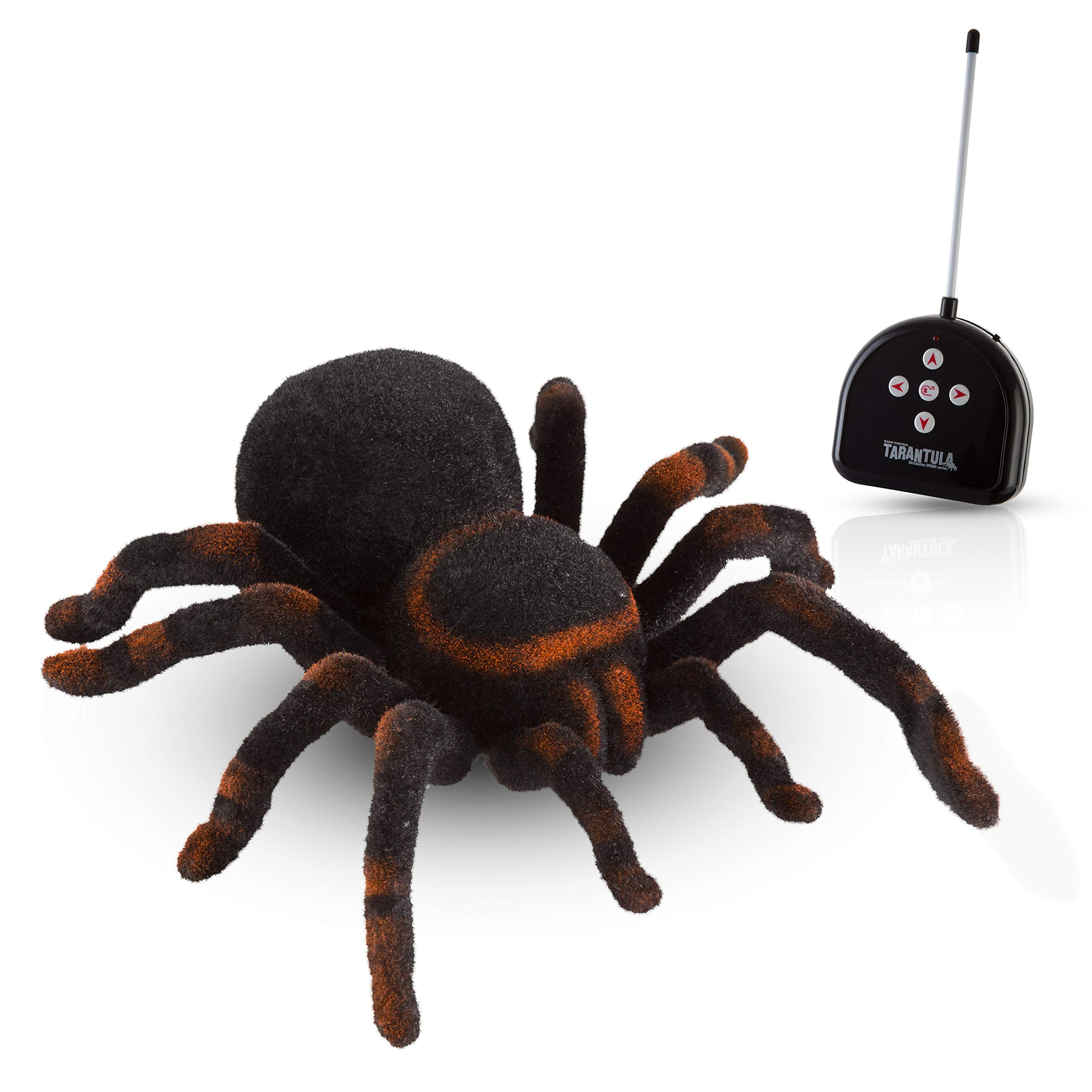 Advanced Play Remote Control Spider Toy Realistic 8 Inch Tarantula Animal Figures Funny Prank Joke Scare Gag Gifts for Halloween Christmas Party decor Birthdays Holidays April Fool Pranks by Advanced Play (Image #1)