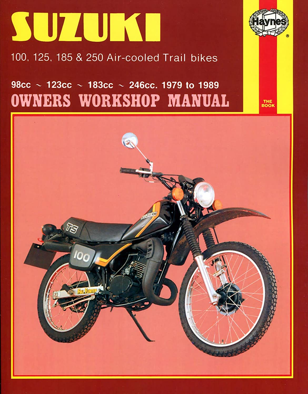 Haynes Suzuki TS Air-cooled Trail Bikes: 100, 125, 185, 250cc 80-89 Repair  Manual 797, Exterior Accessories - Amazon Canada