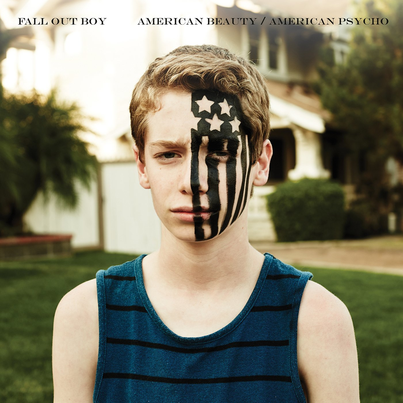 Image result for fall out boy american beauty/american psycho