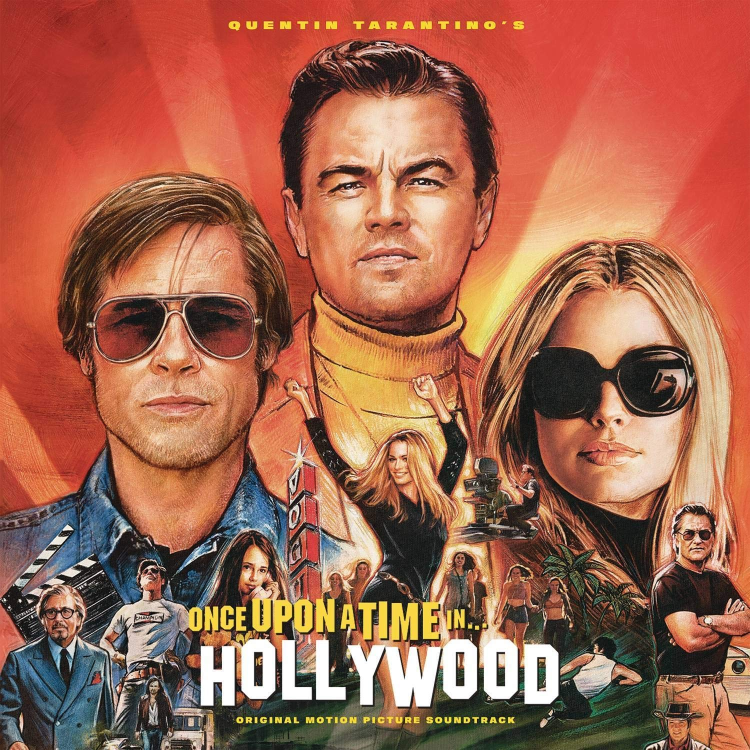 Quentin Tarantino's Once Upon a Time in Hollywood Original Motion Picture Soundtrack by COLUMBIA RECORDS GROUP