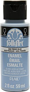 product image for FolkArt Enamel Glass & Ceramic Paint in Assorted Colors (2 oz), 4468, French Blue