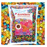 Water Beads, MarvelBeads Rainbow Mix, 16 oz (38,000-43,000 beads) for Kids Play, Sensory Toys and Games, Orbeez Spa Refill and Décor