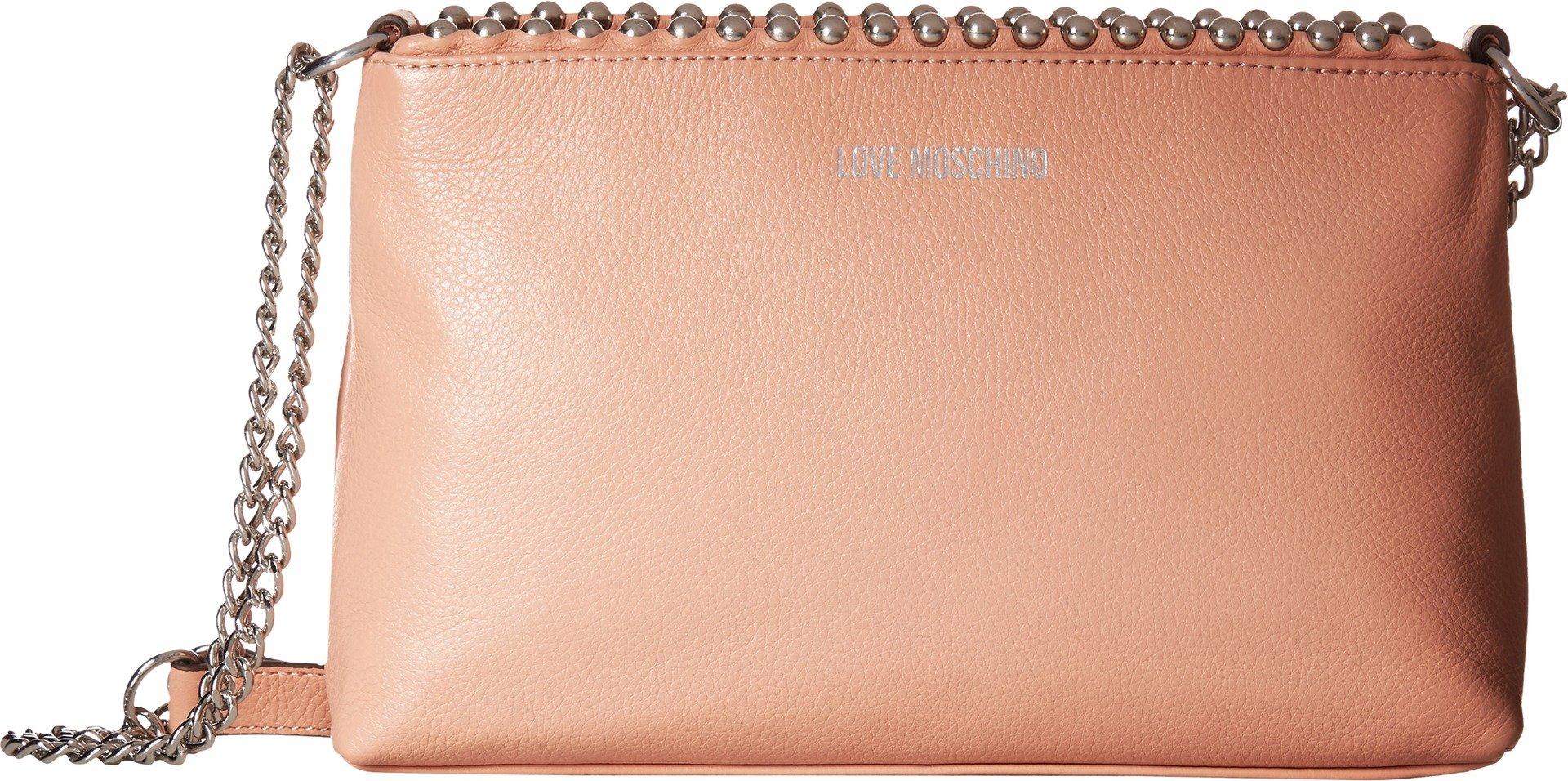 LOVE Moschino Women's Pallina Clutch Light Pink One Size