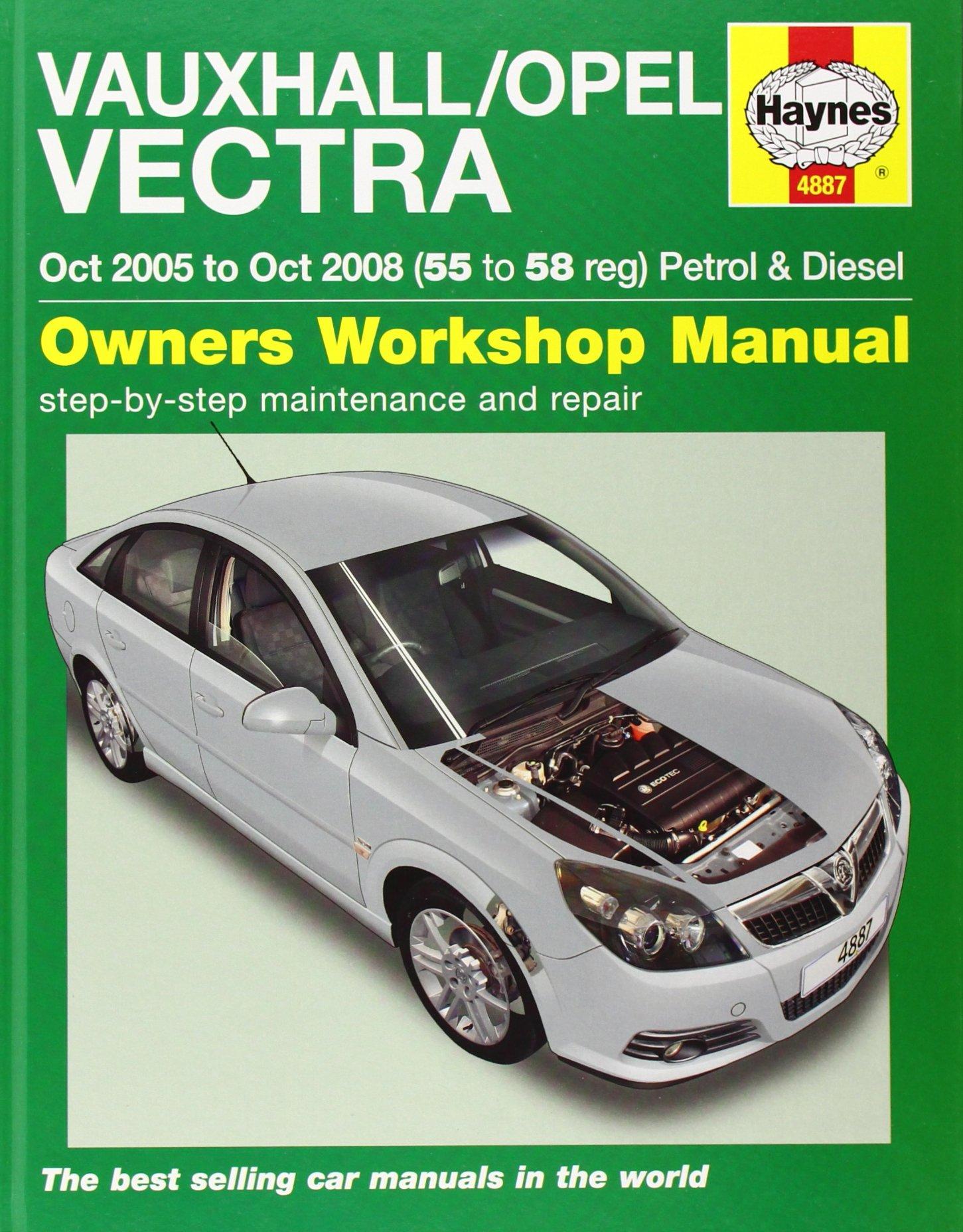 vauxhall opel vectra petrol diesel service and repair manual oct rh amazon com Haynes Manuals for 2003 Jeep Haynes Manuals for 2003 Jeep