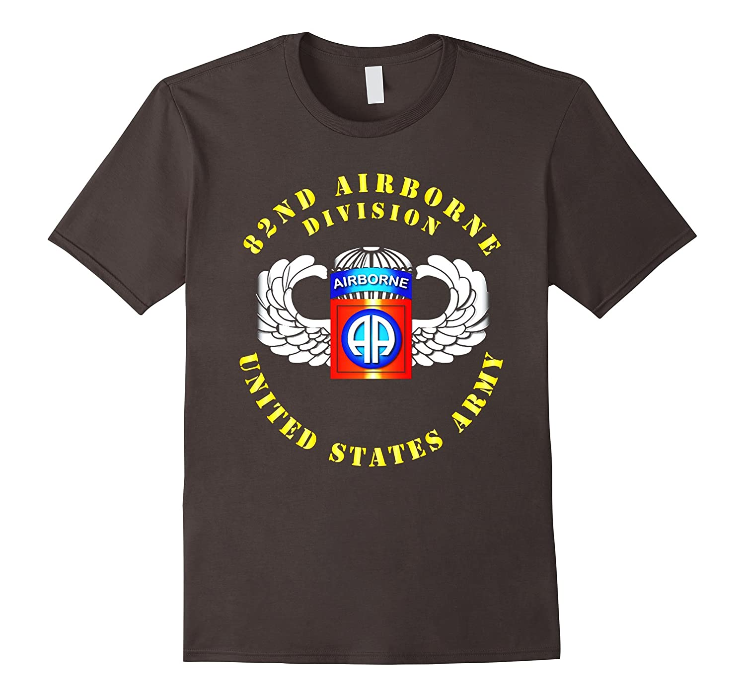 US Army – 82nd Airborne Division – SSI – Wings Tshirt