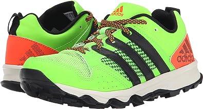 ea20e0e3fd3a4 adidas Kids Boy s Kanadia 7 TR K (Little Kid Big Kid) Black Red ...