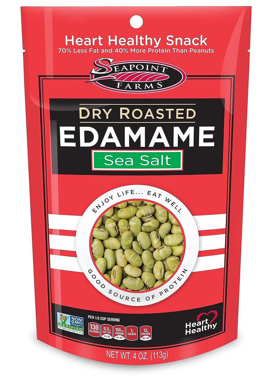 Seapoint Farms, Edamame, Dry Roasted, 4 oz