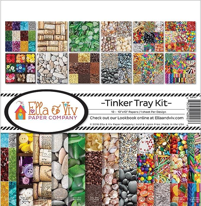 Reminisce Ella and Viv Collection Kit Multi-Colour 31.75 x 31.11 x 0.43 cm