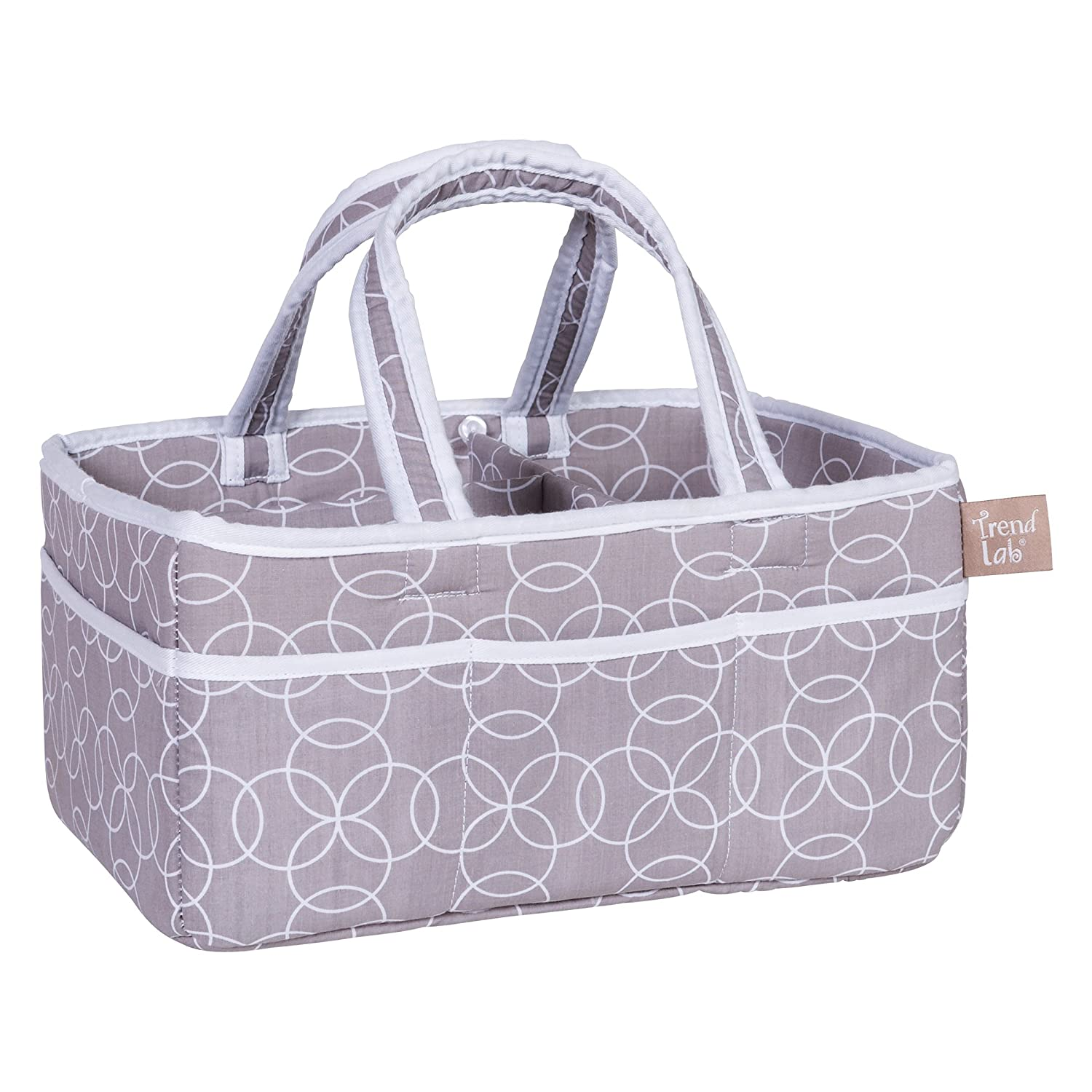 Trend Lab Circles Gray Storage Caddy 100589
