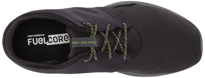 New Balance Boys Coast V3 FuelCore Running Shoe Phantom//Limeade 10.5 W US Little Kid