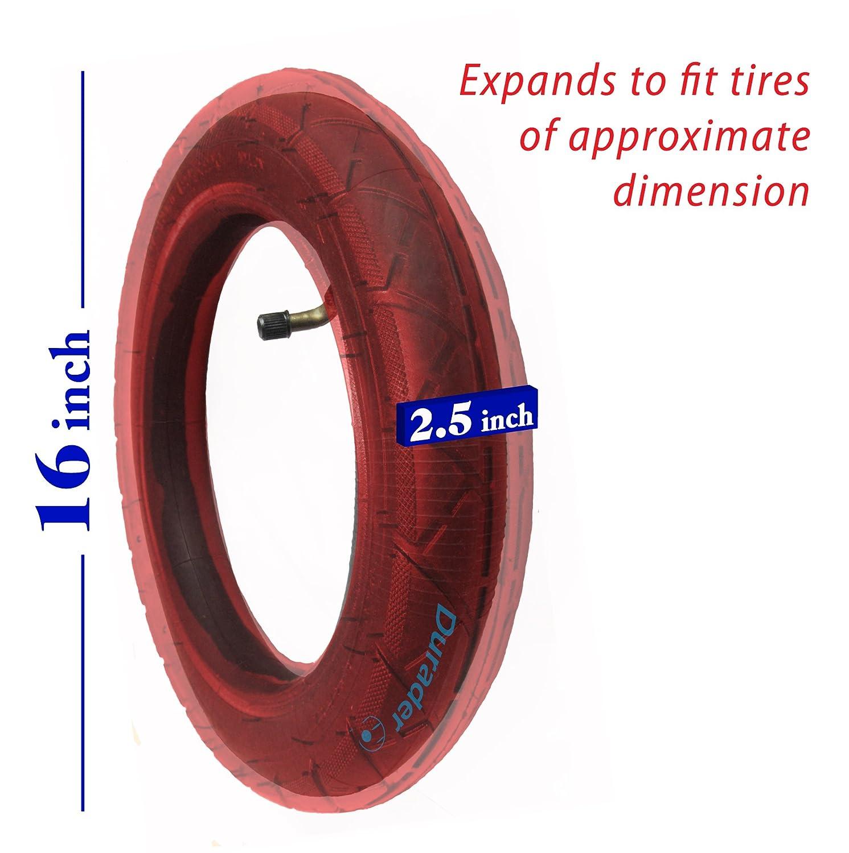 16x2.50//2.70 Inner Tube with Bent Valve Stem for Electric Bikes