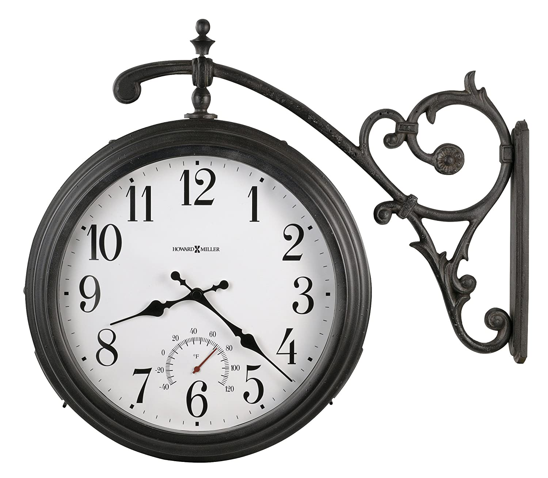 Amazon howard miller 625 358 luis indooroutdoor wall clock amazon howard miller 625 358 luis indooroutdoor wall clock home kitchen amipublicfo Image collections