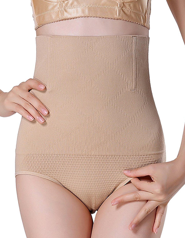 AMAGGIGO Women's High-Waist Shapewear Seamless Tummy Control Body Shaper (FBA)