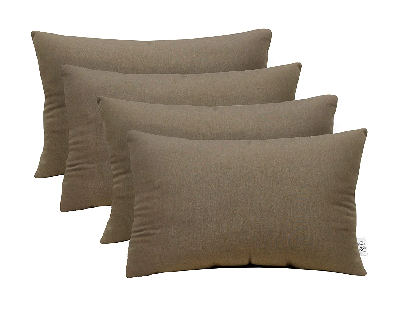 RSH Décor Set of 20 Indoor Outdoor Decorative Rectangle Lumbar ...