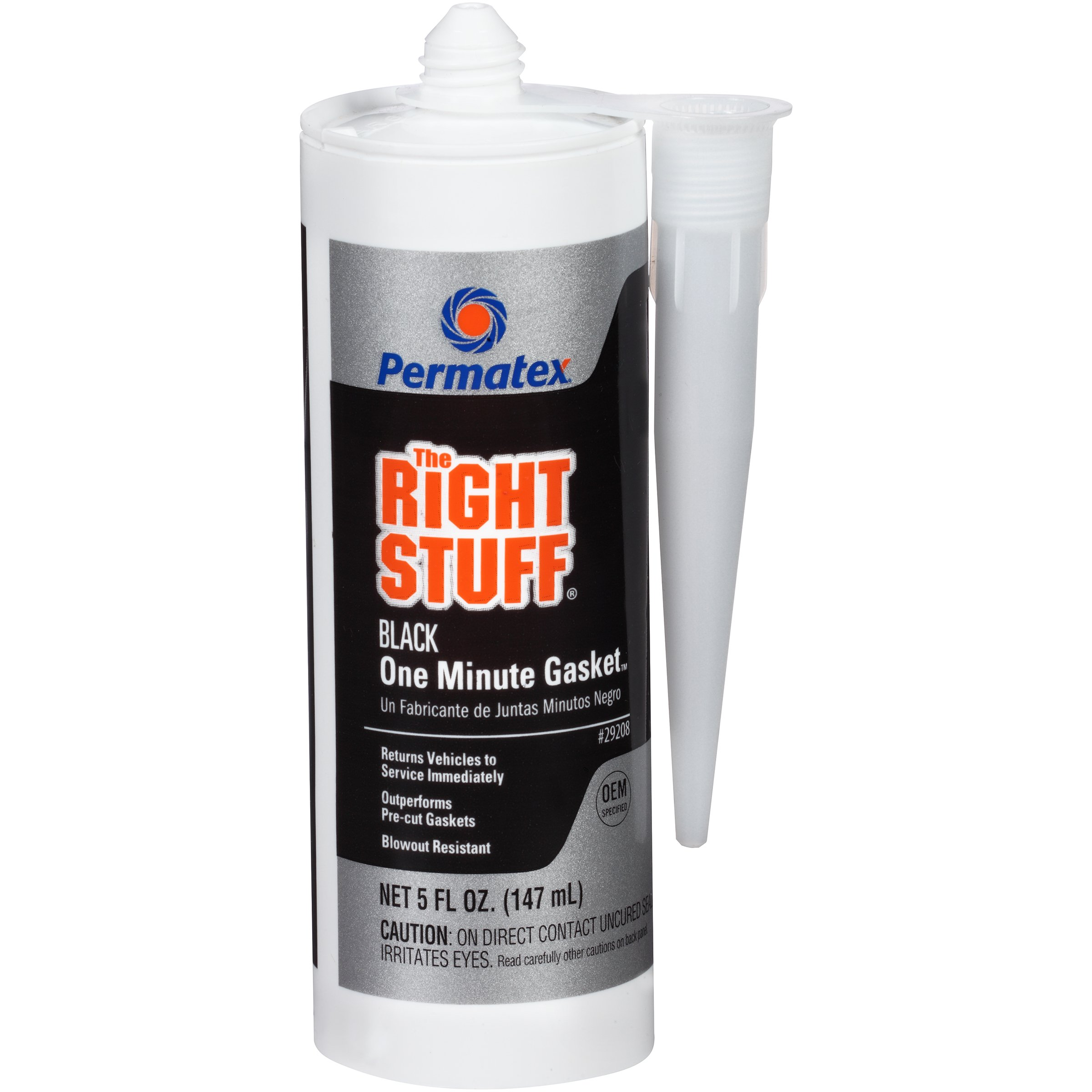 Permatex 29208-6PK The Right Stuff Gasket Maker, 5 oz. (Pack of 6)