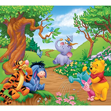 Amazon Decorate By Color Bc1580941 Winnie The Pooh Mini Mural