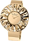 Jacques Lemans Women's Analogue Watch with Gold Dial Analogue