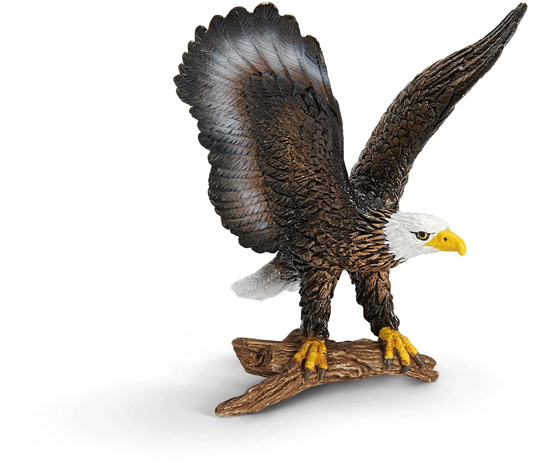 Amazon.com: Schleich Bald Eagle Toy Figure: Toys & Games
