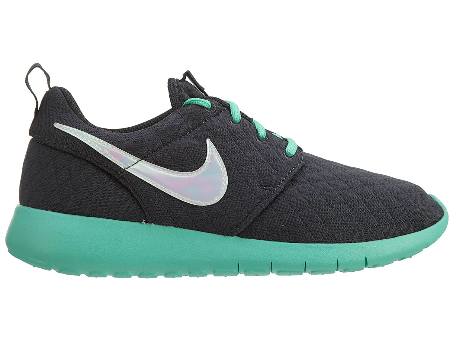 NIKE Kid's Roshe One SE GS, GS, SE Anthracite Anthracite-Grün Glow, Youth Größe 7 0fd817