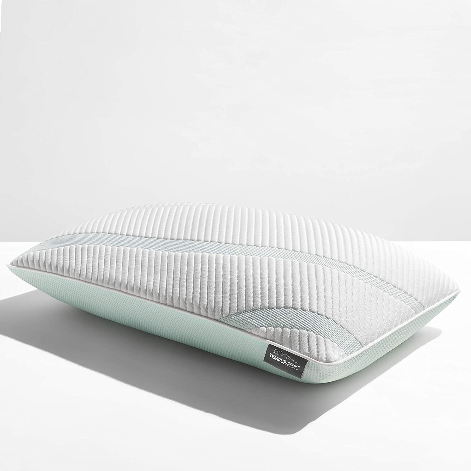 Tempur-Pedic TEMPUR-Adapt ProMid + Cooling-Queen Pillow, White
