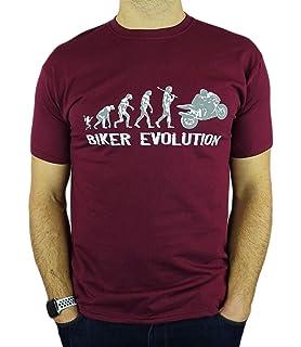 Bikes Evolution Womens Funny Motorbikes T-Shirt 12 Colours