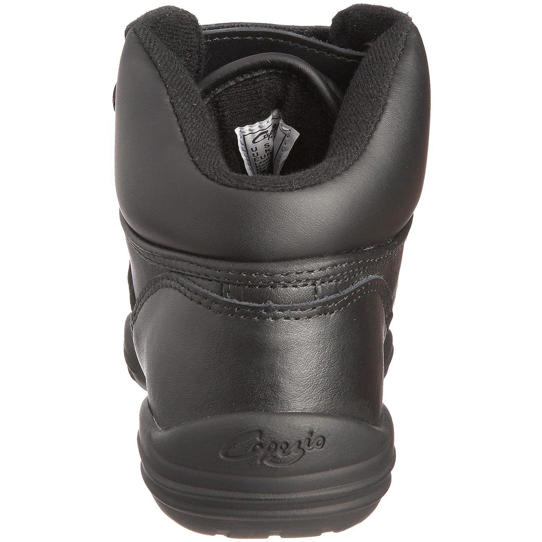 Capezio Capezio DS01 Dansneaker - Zapatillas de cuero unisex, Negro, 35.5