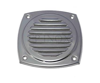 Rejilla de acero inoxidable 125 x 125 mm rejilla ventilación ...