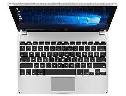 Brydge Microsoft Surface Pro 3/4 (12.3 インチ) 用 Bluetooth ワイヤレス 一体化型 アルミニウム キーボード ケース