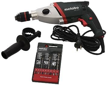 Metabo 6.00842.90 Taladro eléctrico (850 W, 520 W, 2,8 kg), 0 V, Verde, 0: Amazon.es: Coche y moto