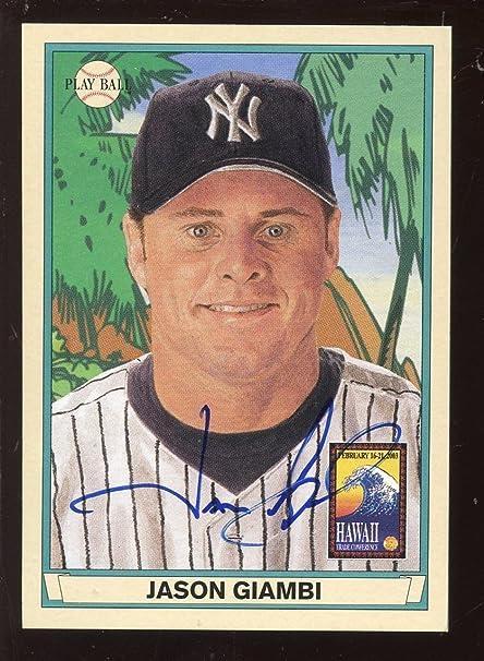 2003 Upper Deck Playball Baseball Card Jason Giambi