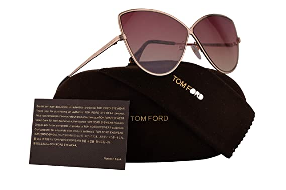 cc19d8d659 Image Unavailable. Image not available for. Color  Tom Ford FT0569 Elise-02  Sunglasses ...