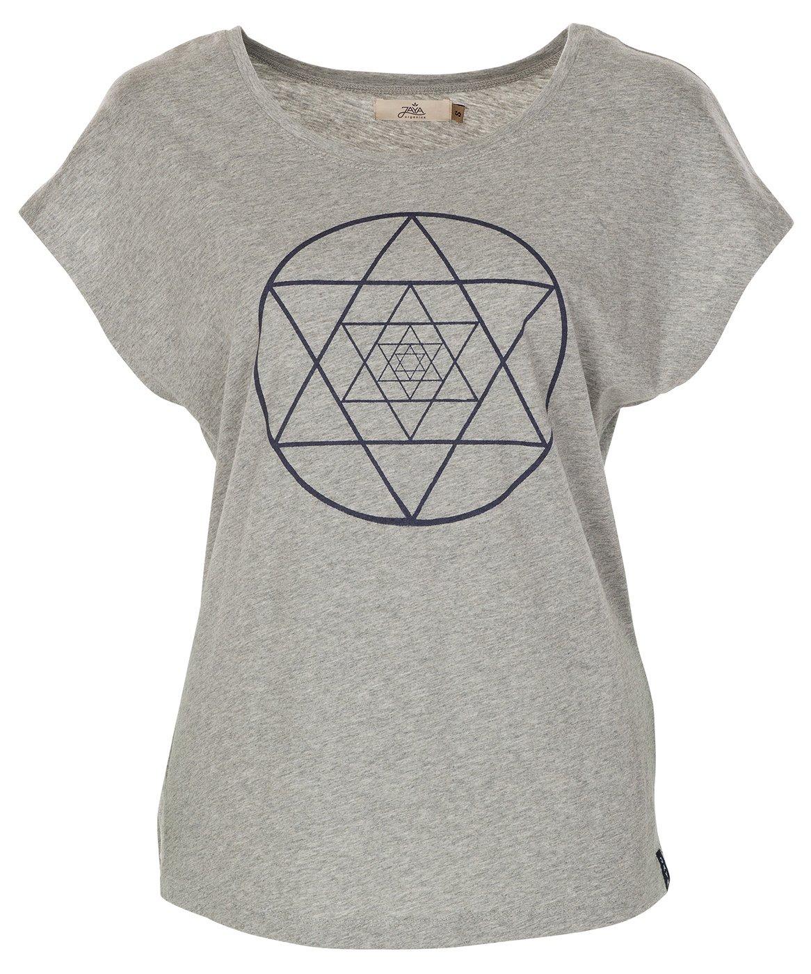 Jaya T-Shirt isis - Grau Melange