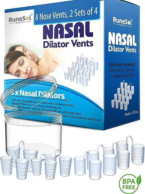 Runesol Dilatador Nasal - Antironquidos Nasal Dejar De Roncar - Dilatadores Nasales anti ronquido soluciones - Antirronquidos - Alivia Apnea Del ...
