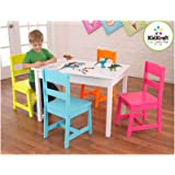 KidKraft Highlighter Table and 4 Chair Set