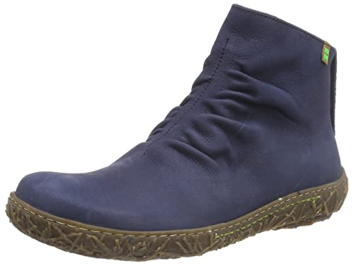 2b89ffca6bb5 El Naturalista Women s N755 Nido Cold Lined Classic Boots Short Length Blue  Size  3 UK