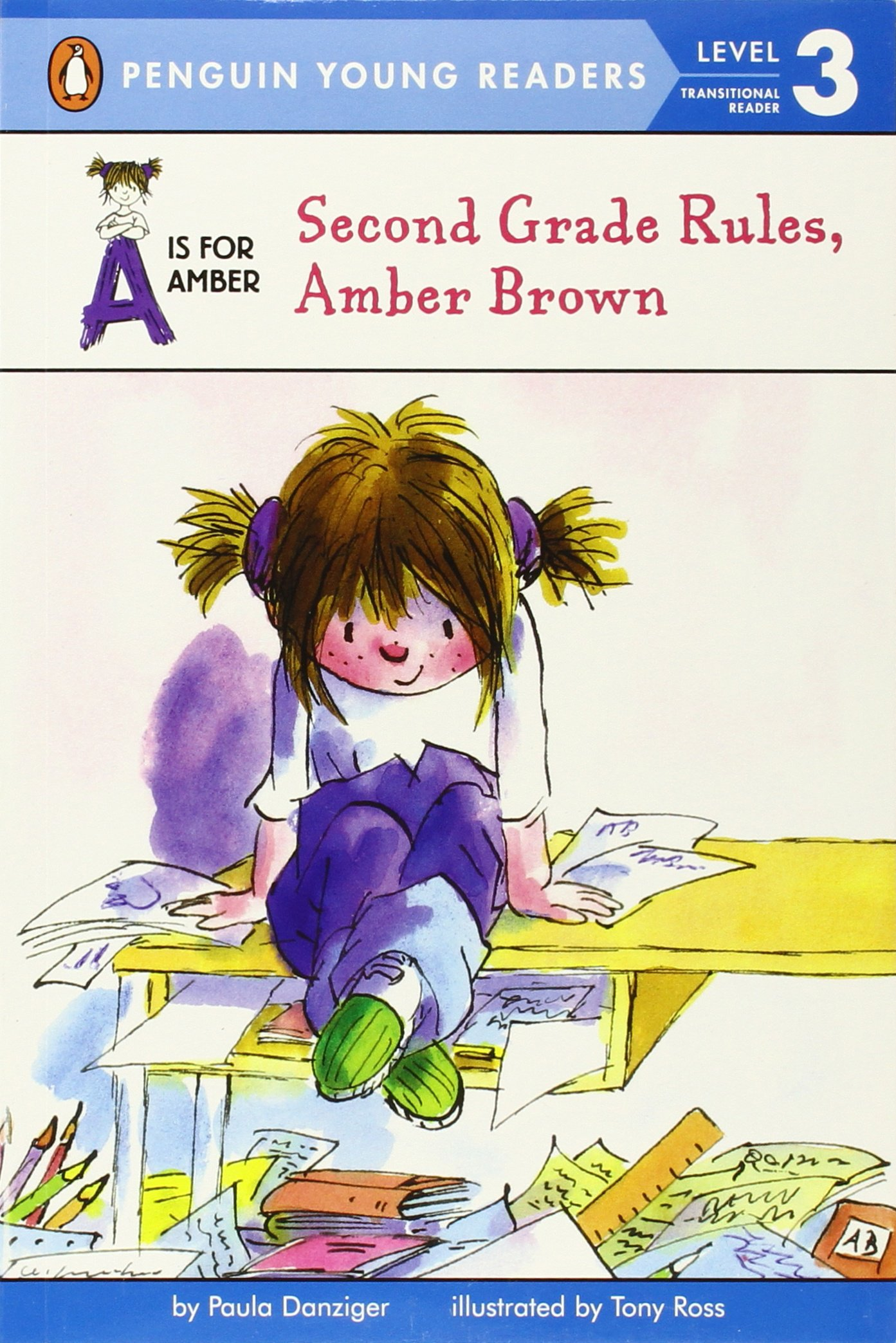 Second Grade Rules, Amber Brown (A Is for Amber): Paula Danziger ...