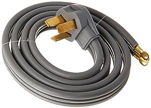 EZ-FLO 61242 3-Prong Range Cord-50 AMP, 5' - 3 Wire