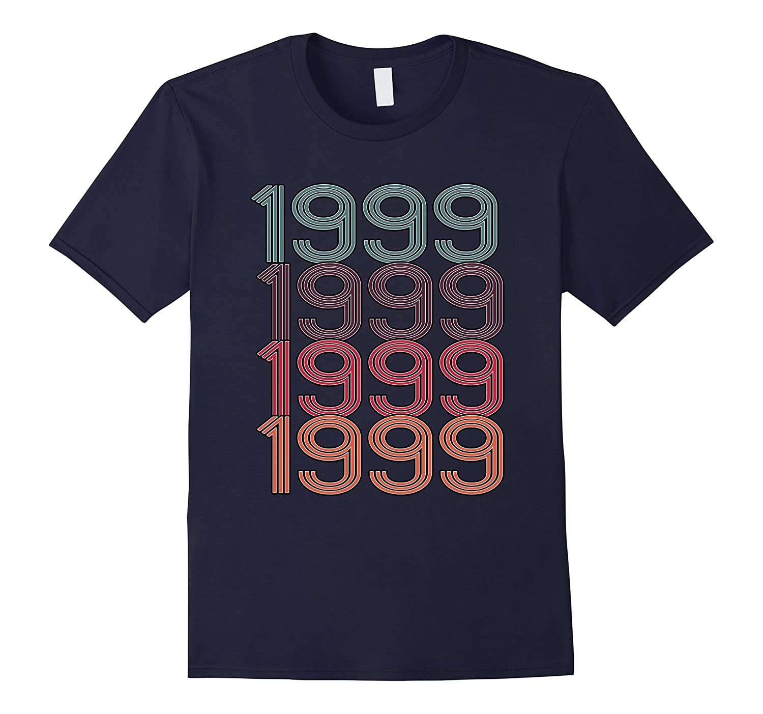 1999 Retro Vintage Birthday T-Shirt Birthday Gift Idea-FL