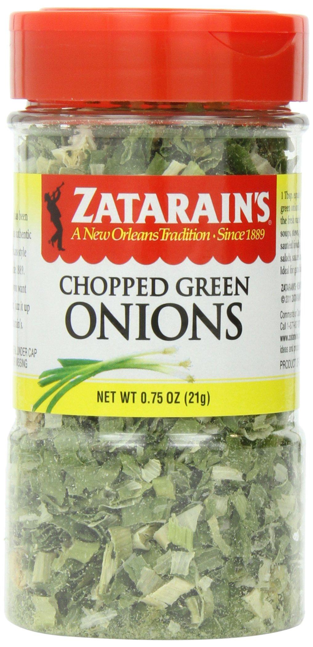 Zatarain's Chopped Green Onions, 0.75 oz (Pack of 6)