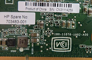 HP 677908-001 NVIDIA Quadro 1000M PCIe x16 2GB DDR3 memory 128-bit wide interface graphics card Graphics Sub-System Max Power Consumption of 45 Watts