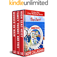 Cruise Ship Cozy Mysteries Series: (Books 10-12) (Cruise Mysteries Box Set Book 4) (English Edition)