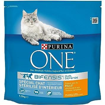Purina One - Pienso para gatos adultos esterilizados de ...