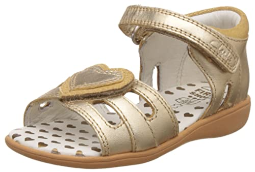 4f359761dc7 Clarks Girl s Gold First Walking Shoes - 4 Kids UK India (20 ...