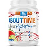 About Time AminoHydrate, Non-GMO, All Natural, Lactose/Gluten Free, (Watermelon Lime - 30 Servings)