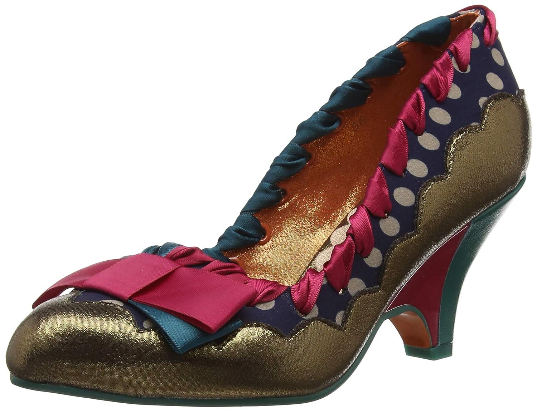 TALLA 42 EU. Poetic Licence by Irregular Choice Velveteen, Zapatos de tacón con Punta Cerrada para Mujer