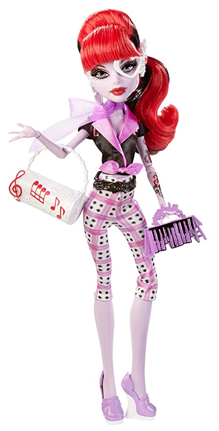 amazon com monster high monster scaritage operetta doll and fashion
