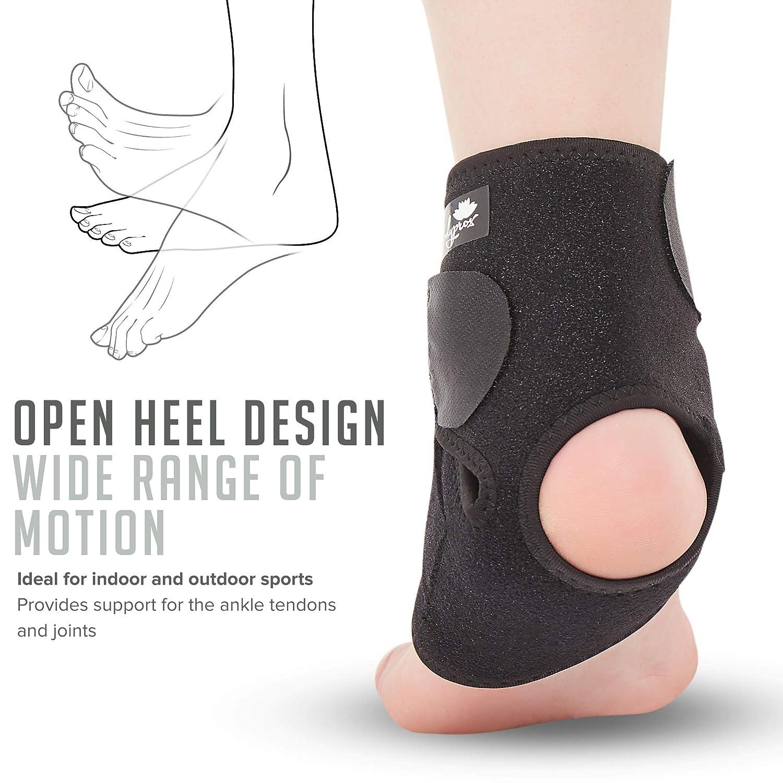 Ankle Support Brace, Breathable Neoprene Sleeve, Adjustable Wrap! : Beauty