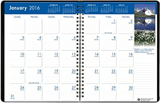 "product image for House of Doolittle 2016 Monthly Calendar Planner, 8.5"" x 11"", Earthscapes (HOD26402-16)"