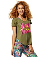 Zumba Funked Perfect Tulip Top Armed and ready XX-Large